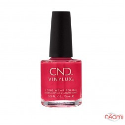 Лак CND Vinylux Wild Earth 283 Element красный, 15 мл