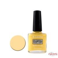 Лак для стемпинга G. Lacolor 003 желтый, 10 мл
