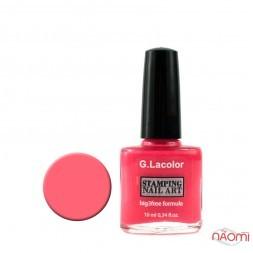 Лак для нігтів для стемпінгу 10мл G. Lacolor 004