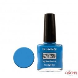 Лак для нігтів для стемпінгу 10мл G. Lacolor 007