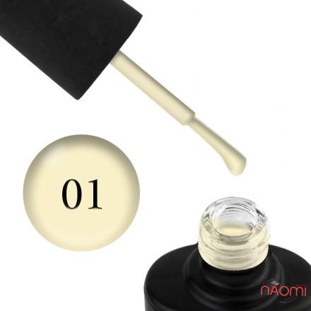 Лак-гель NUB UNICORN 001 светлый лимонный, 14 мл, фото 1, 115.00 грн.