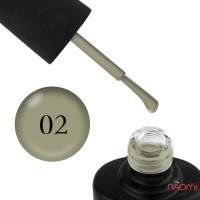 Лак-гель NUB UNICORN 002 оливковый, 14 мл