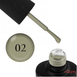 Лак-гель NUB UNICORN 002 оливковий, 14 мл