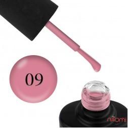 Лак-гель NUB UNICORN 009 молочний рожевий, 14 мл