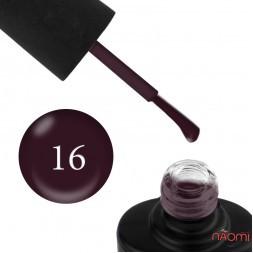 Лак-гель NUB UNICORN 016 сливове вино, 14 мл
