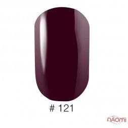 Лак Naomi 121 виноградно-бордовый, 12 мл