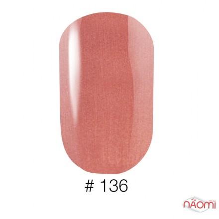 Лак Naomi 136 мягко-терракотовый крем, 12 мл, фото 1, 60.00 грн.