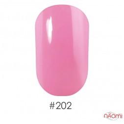 Лак Naomi 202 лилово-розовый, 12 мл