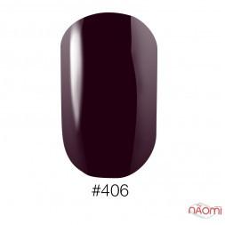 Лак Naomi 406 темно-сливовый, 12 мл
