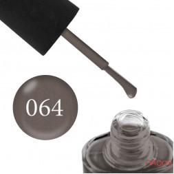 Лак NUB 064 мягкий коричневый, с перламутром, 14 мл