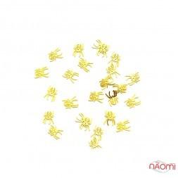 Логотипи - Павучки, колір золото Logo- 127