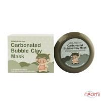 Маска для лица Bubble Clay Mask глиняно-пузырьковая, 100 г
