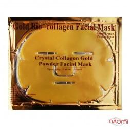Маска для лица Gold Bio-Collagen золотая, с коллагеном, против морщин, увлажняющая, 60 г