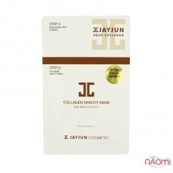 Маска для лица Jayjun Collagen Skin Fit Mask, двухступенчатая, глубокое увлажнение, 25 мл