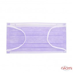 Маска на лицо Fiomex Begreat Premium, цвет лиловый, 50 шт.