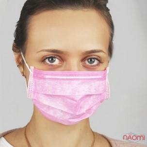 Маска на обличчя Fiomex Begreat Premium, колір рожевий, 5 шт.
