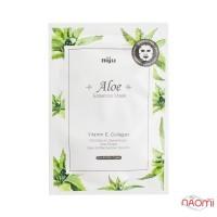 Маска-салфетка для лица увлажняющая Konad Niju Aloe Essence Mask, 17 мл