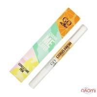 Олійка для кутикули в олівці GO Active Citrus Fresh, свіжий цитрус, 2,5 мл