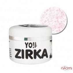 Меланжевий гель-лак Yo nails Zirka Snow 04 рожевий, 5 мл