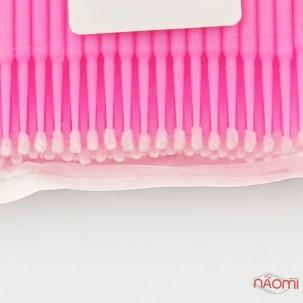 Микробраши Lash Secret, 100 шт., розовые