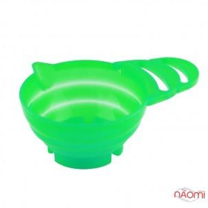 Миска для змішування фарби, пластикова з очищувачем для пензля (синя, зелена)