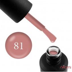 Гель-лак My Nail 081 рожево-тілесний, 9 мл