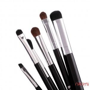 Набір пензлів для макіяжу DUcare натуральний і штучний ворс, 6 шт.