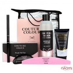 Набор для наращивания акрил-гелем Couture Colour №1 Clear