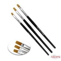 Набор кистей для рисования YRE Nail Art Brush NK-01-01, 3 шт.