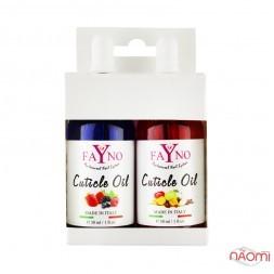 Набор масел для кутикулы 1+1 Faynо 03 ягодный микс, фруктовый микс, 30 мл