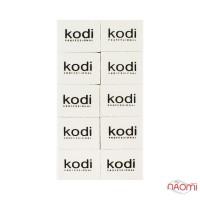 Набор мини-бафов для ногтей Kodi Professional 100/180, 10 шт.