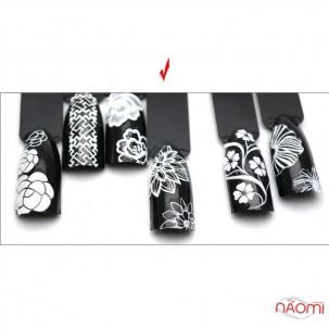 Наклейка для ногтей 3D DP 202 Цветы