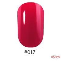 Лак Naomi 017 красно-малиновый, 12 мл