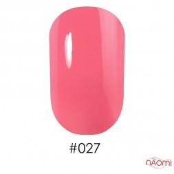 Лак Naomi 027 кремово-розовый, 12 мл