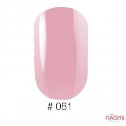 Лак Naomi 081 рожево-ліловий, 12 мл