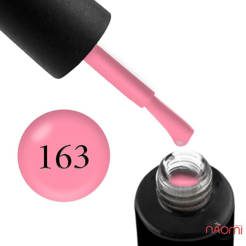 Гель-лак Naomi 163  Peach Bikini мягкий розовый, 6 мл, фото 1, 55.00 грн.