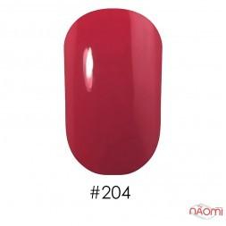 Лак Naomi 204 кораллово-розовый, 12 мл