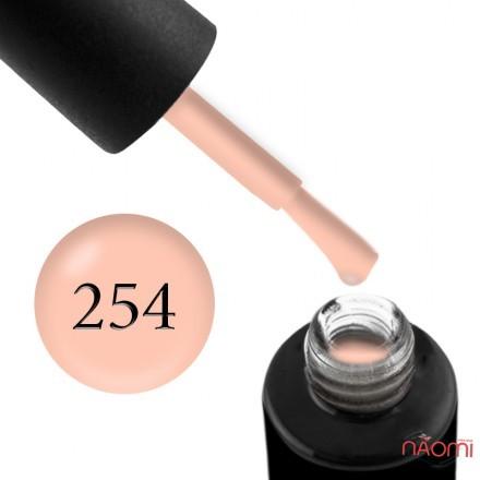 Гель-лак Naomi 254  Faery Coral кремово-персиковый, 6 мл, фото 1, 95.00 грн.