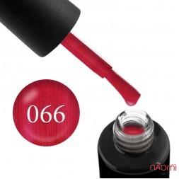 Гель-лак Naomi 066  Red Pearl  красно-малиновый, 6 мл