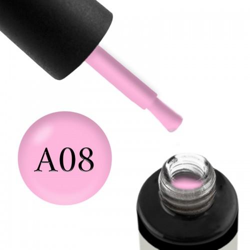 Гель-лак Naomi Aquarelle А 08 рожевий, 6 мл, фото 1, 95.00 грн.