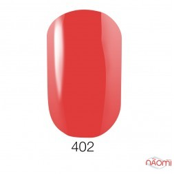Лак Naomi 402 кораллово-красный, 12 мл