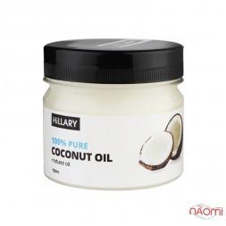 Натуральное кокосовое масло для лица и тела Hillary Premium Quality Coconut Oil, 100 мл