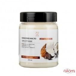 Натуральное кокосовое масло для волос и тела Elit Lab рафинированное, 250 мл