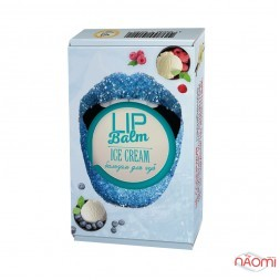 Натуральний бальзам для губ Enjoy-Eco Lip Balm Ice Cream Морозиво, 15 г