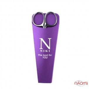 Ножницы для кутикулы NIKI Professional 01, лезвия 24 мм