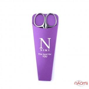 Ножиці для кутикули NIKI Professional 02, леза 27 мм