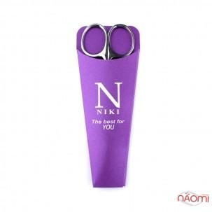 Ножиці для кутикули NIKI Professional Left для лівші, леза 27 мм