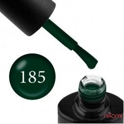 Гель-лак NUB 185 темно-зеленый, 8 мл