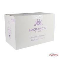 Одноразовые полотенца Monaco Style гладкие 40х70 см, 100 шт.