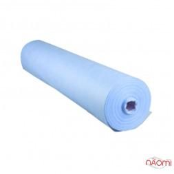 Одноразові простирадла Monaco Style 0,6 м х100 м.п., колір блакитний, щільність 20